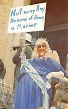 (359) Un-Posted Postcard Showing Miss America ???