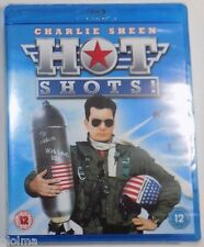 HOT SHOTS Brand New BLU-RAY Movie 1991 Charlie Sheen Comedy
