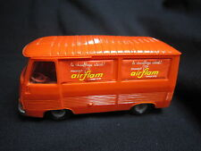 DV6271 NOREV PEUGEOT J7 FOURGON AIRFLAM PLASTIQUE ORANGE Ref 7 1/43 TBE