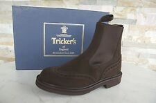 Tricker's 36 3 Bottines chelsea boots bottes chaussures CAFFE Café NEUF