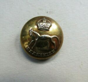 Military Brass 25 mm. Button The Berkshire Yeomanry British Army