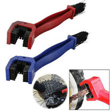 Cycling Motorcycle Chain Gear Grunge Cleaning Brush Scrubber Tool Random Color