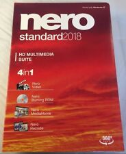 Nero 2018 Standard Multimedia Suite for Windows - 4 Programs in One! NEW