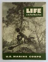 1950s LIFE IN FLEET MARINE FORCE Recruiting Magazine Brochure US Corpse vintage