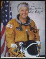 s1295) Astronaut Henry W. Hartsfield - NASA Photo JSCL 213 Autogramm Autograph