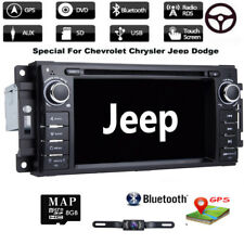 Car DVD GPS Radio Headunit For Jeep Grand Cherokee Dodge RAM Chrysler Sebring E