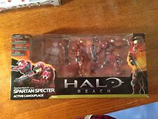 HALO REACH SPARTAN SPECTER 3 PACK!!! BUY B4 THE MOVIE HITS! AWESOME 3 PACK ACTIO