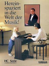 La publicidad yamaha Electone música electrónica instrumentos piano keyboard Hamburgo