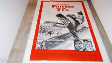 POUR UNE POIGNEE DE YEN   ! affiche cinema  karate kung-fu