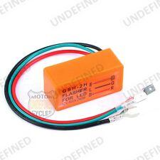 Universal Motorcycle LED Flasher Turn Signal Indicator Resistor Adaptor 3 Pin