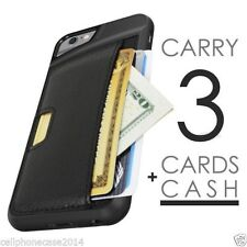 Synthetic Leather Mobile Phone Fitted Cases/Skins for iPhone 6s with Card Pocket