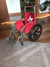 Red American Girl Wheelchair