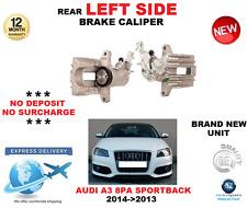 FOR AUDI A3 8PA SPORTBACK 2004->2013 REAR LEFT SIDE BRAKE CALIPER OE QUALITY
