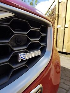 HIGH QUALITY R Design VOLVO Repair Replacement Grille Badge Emblem Overlay