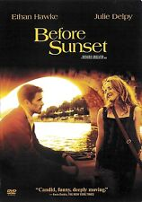 Before Sunset ~ Julie Delpy Ethan Hawke ~ Dvd ~ Free Shipping Usa