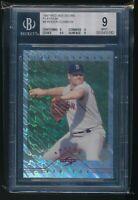 1997 Red Sox Score Platinum Roger Clemens #8  BGS 9 HTF