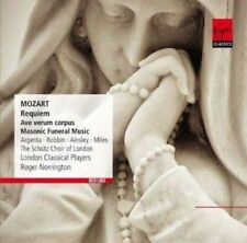 London Classical Players And Roger Norrington - Mozart: Requiem, Ave Ve (NEW CD)