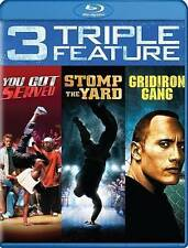 You Got Served/Stomp the Yard/Gridiron Gang Blu-ray Disc, 2016 NEW FREE SHIPPING