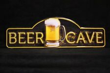 Beer Bar Distress Retro Vintage Decor Metal Gas Tin Sign ManCave Garage Basement