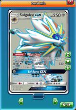 Solgaleo GX Full Art 143/149 Pokemon TCG Online (Digital card) PTCGO