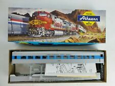 NEW HO Scale Athearn #1810 Undecorated Streamlined Coach Car Kit