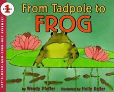From Tadpole to Frog (Brand New Paperback) Wendy Pfeffer