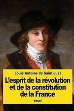 L' Esprit de la Révolution et de la Constitution de la France by Louis de...