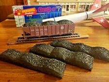 Handmade HO scale coal loads for Athearn/Roundhouse hopper cars