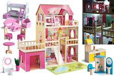 Puppenhaus Barbiehaus Puppenstube Puppenvilla Spielzeughaus Holz Möbeln GS0020