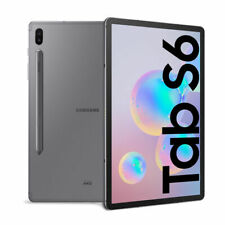 "TABLET SAMSUNG GALAXY TAB S6 SM T860 10.5"" 128 GB ROM 6 GB RAM WIFI GRAY GRIGIO"