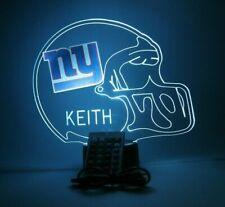 New York Giants NY Night Light Up Football LED Sports Fan Lamp Personalized FREE