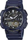 Casio-Mens-Quartz-World-Time-10Yr-Battery-Blue-Resin-50mm-Watch-AEQ110W2AV