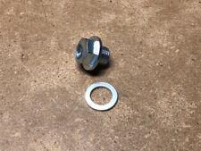 Civic Integra D16 B16 B18 Si GSR ITR Engine Oil Drain Plug Bolt & Crush Washer