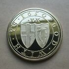 1650 - 1 UNITE Crown Sized Novelty Restrike Coin - Commonwealth of England