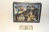 1977 Vintage Kenner Star Wars Mini Action Figure Vinyl Collectors Carrying Case