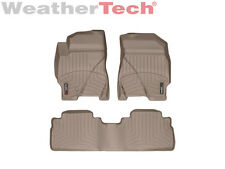 WeatherTech Floor Mats FloorLiner - Escape/Tribute/Mariner - 1st/2nd Row- Tan