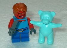 HALLOWEEN #08 Lego Evil Demon Child w/bear & Knife NEW Spooky