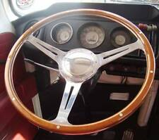 "Steering Wheel 16"" Wood Rim for Bay Window VW Early Bay Bus Camper Type 2 AAC090"