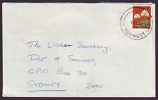 "NSW  POSTMARK ""UKI"" ON COMMERCIAL COVER DATED 23/8/1977 (PS3647)"