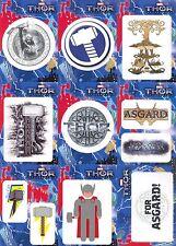 THOR THE DARK WORLD 2013 U PICK STICKER INSERT CARDS T2-1, ETC. 5 FOR $4.99 MA