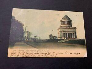 1906 Grant's Tomb Riverside Drive New York City Postcard