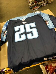 REEBOK JERSEY MENS Tennessee Titans  PLAYER  WHITE