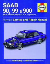 0765 Haynes SAAB 90, 99 e 900 Benzina (1979-OTTOBRE 1993) FINO AL MANUALE PER OFFICINA L