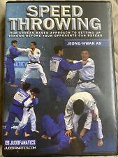 Speed Throwing Judo 4 Dvd Instructional- Jeong Hwan An