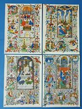 More details for bedford book of hours art postcards, 4 scenes from the last supper to pentecost