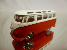 LEGO DENMARK - VINTAGE VOLKSWAGEN  T1 BUS 1:87 WHITE RED  - GOOD CONDITION