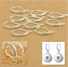 1 pair Sterling Silver leverback earring kz 84
