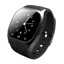 Bluetooth Smart Wrist Watch Sync Phone Mate For IOS Android iPhone Samsung