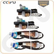 Set 4pcs Upper+Down Oxygen Sensor 02 O2 Sensors for GMC Chevy Silverado Sierra