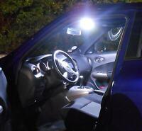 Eclairage Intérieur VW Polo 9N Kit 8 Lampes Mise au Point Blanc